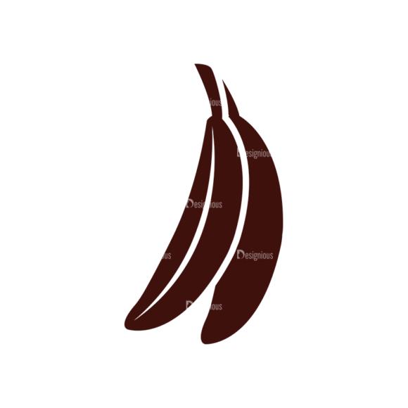 Fruits Vector Elements Set 1 Vector Banana 1