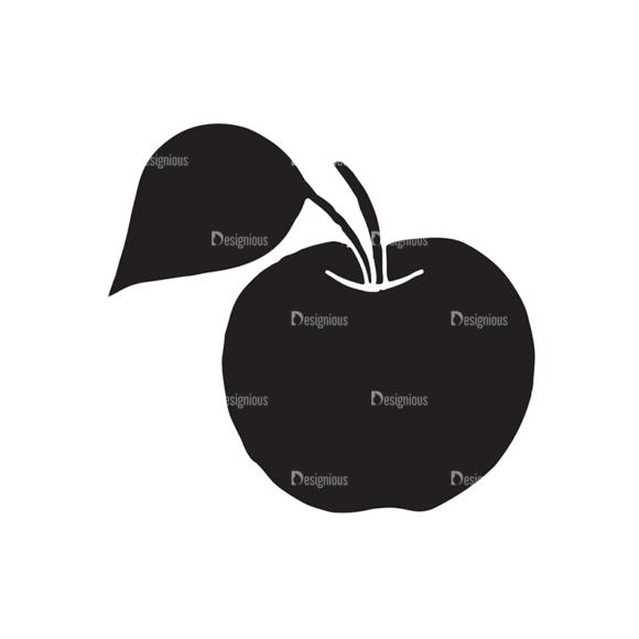Fruits Vector Elements Set 2 Vector Apple 1