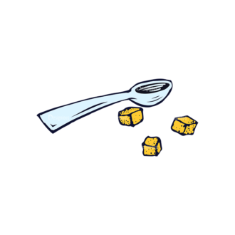 Kitchen Vector Set 3 Vector Spoon Clip Art - SVG & PNG vector