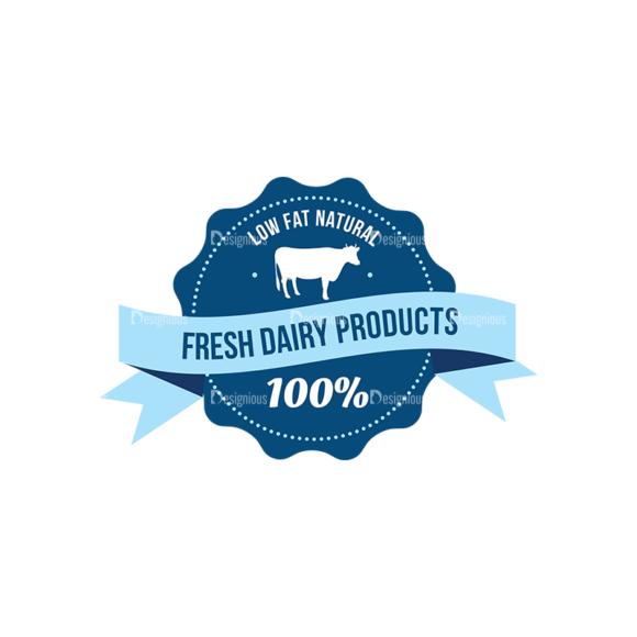 Milk Logo Labels Vector Set 5 Vector Labels 03 1
