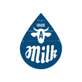 Milk Logo Labels Vector Set 5 Vector Labels 07 Clip Art - SVG & PNG vector