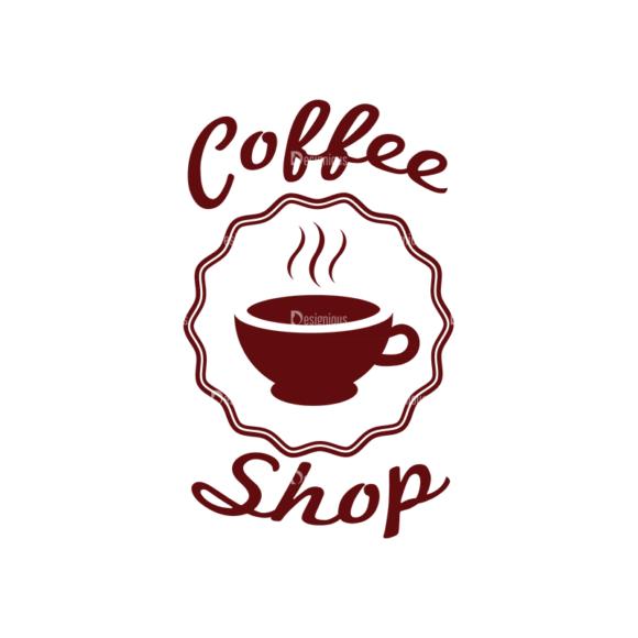 Restaurant And Cafe Vector Set 2 Vector Logo 07 5