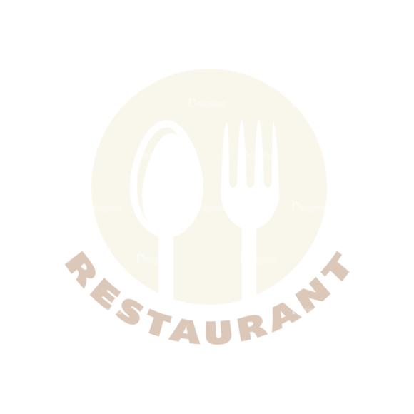 Restaurant Elements Vector Logo 03 Food drinks restaurant elements vector logo 03