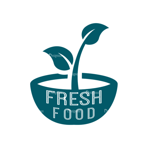 Restaurant Elements Vector Logo 04 Food drinks restaurant elements vector logo 04