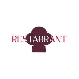 Restaurant Elements Vector Logo 08 Clip Art - SVG & PNG vector