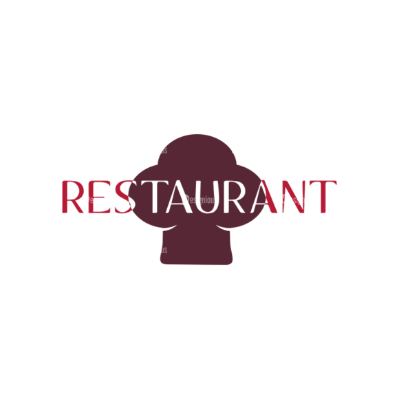 Restaurant Elements Vector Logo 08 Food drinks restaurant elements vector logo 08