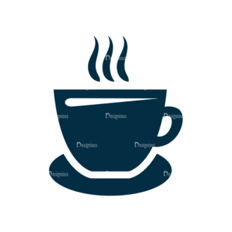 Restaurant Icons Set 4 Vector Coffee Clip Art - SVG & PNG vector