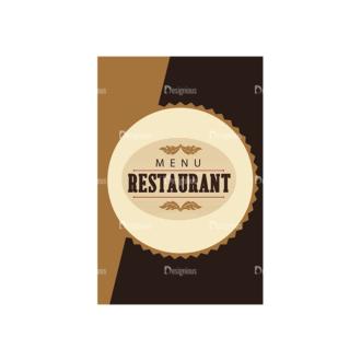 Restaurant Menu Set 2 Vector Expanded Menu 02 Clip Art - SVG & PNG vector