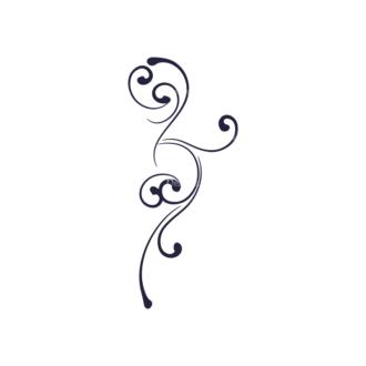 Restaurant Menu Set Vector Ornament Clip Art - SVG & PNG vector