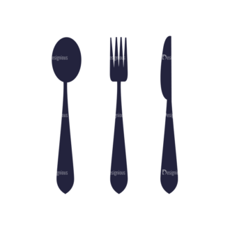 Restaurant Menu Set Vector Utensils 08 Clip Art - SVG & PNG vector