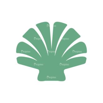 Seafood Logos Vector 2 Vector Shell 01 Clip Art - SVG & PNG shell