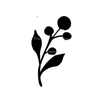 Small Fruits Set 3 Vector Small Plant 08 Clip Art - SVG & PNG vector