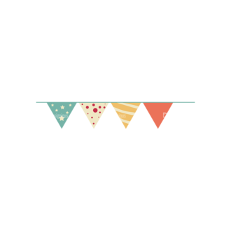Happy Birthday Elements 01 Preview Clip Art - SVG & PNG vector