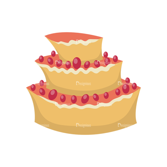 Happy Birthday Elements Cake 03 Preview 1