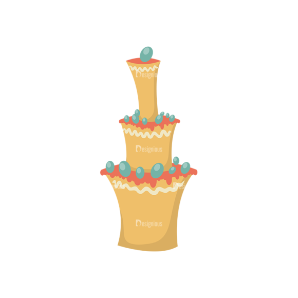 Happy Birthday Elements Cake 04 Preview 1