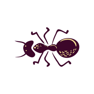 Insects Ant Clip Art - SVG & PNG vector
