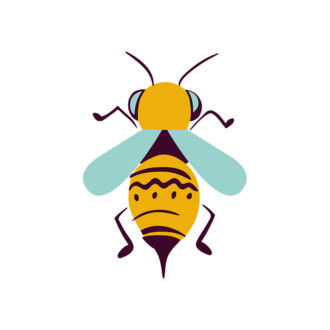 Insects Bee Clip Art - SVG & PNG vector