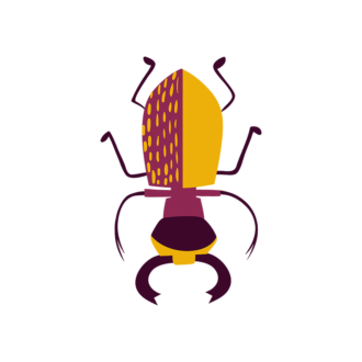 Insects Beetle Clip Art - SVG & PNG vector