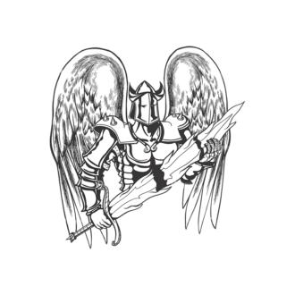 Knigth Vector 1 13 Clip Art - SVG & PNG vector