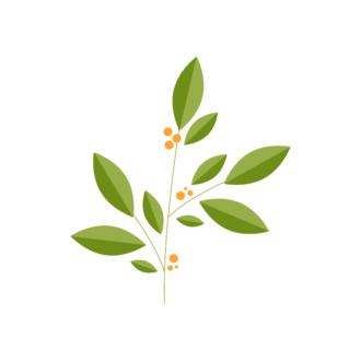 Landscape Builder Branch 02 Clip Art - SVG & PNG vector