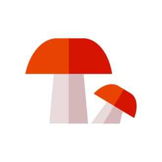 Landscape Builder Mushroom Clip Art - SVG & PNG vector