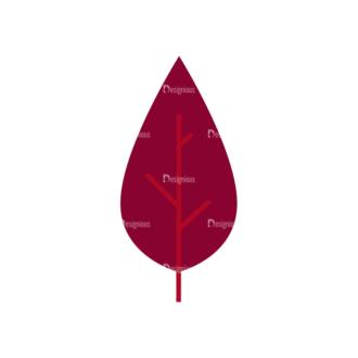 Leaves 1 01 Clip Art - SVG & PNG vector