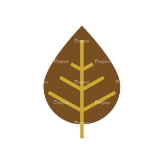 Leaves 1 11 Clip Art - SVG & PNG vector