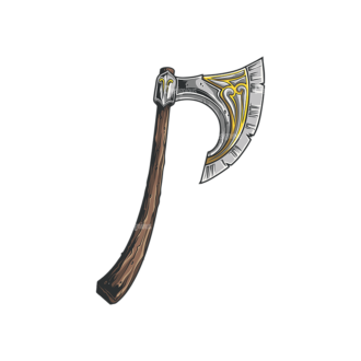 Medieval Weapons Vector 1 4 Clip Art - SVG & PNG vector