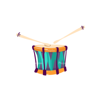 Musical Instruments Drum Clip Art - SVG & PNG vector