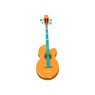 Musical Instruments Guitar Clip Art - SVG & PNG vector