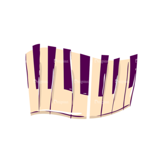 Musical Instruments Pianno Clip Art - SVG & PNG vector