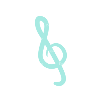 Musical Instruments Sol Key Clip Art - SVG & PNG vector