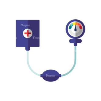 Nurse Blood Pressure Monitor Preview Clip Art - SVG & PNG vector