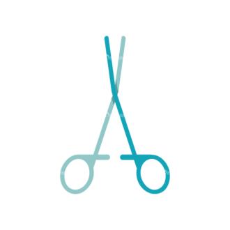 Nurse Scissors Preview Clip Art - SVG & PNG vector