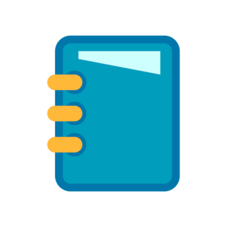 Office Icon Notebook Preview Clip Art - SVG & PNG vector