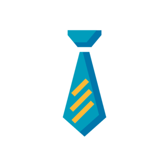 Office Icon Tie Preview Clip Art - SVG & PNG vector