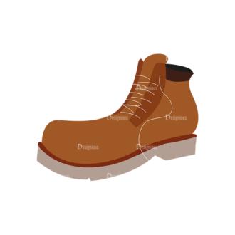 Shoes 01 Clip Art - SVG & PNG vector