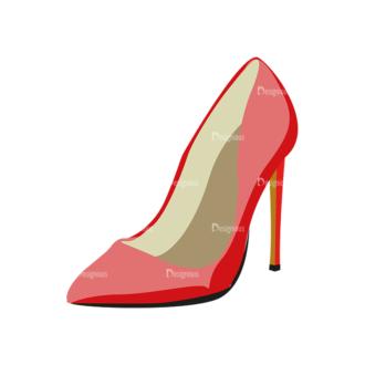 Shoes 03 Clip Art - SVG & PNG vector