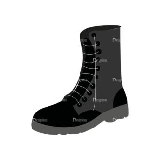 Shoes 05 Clip Art - SVG & PNG vector