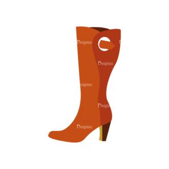 Shoes 06 Clip Art - SVG & PNG vector