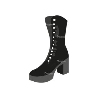 Shoes 09 Clip Art - SVG & PNG vector