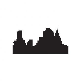 Skylines Vector 1 25 Clip Art - SVG & PNG vector