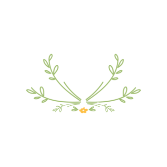 Swirly Frame Decorations 03 Clip Art - SVG & PNG vector