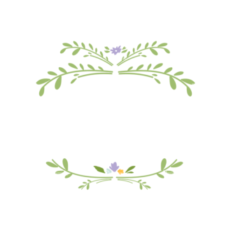 Swirly Frame Decorations 06 Clip Art - SVG & PNG vector