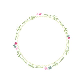 Swirly Frame Decorations 2 01 Clip Art - SVG & PNG vector