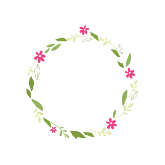 Swirly Frame Decorations 2 02 Clip Art - SVG & PNG vector