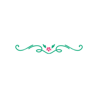 Swirly Frame Decorations 2 03 Clip Art - SVG & PNG vector