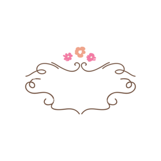 Swirly Frame Decorations 2 07 Clip Art - SVG & PNG vector