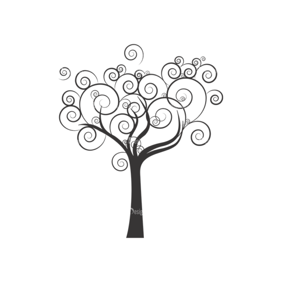 Abstract Trees Vector 1 5 1