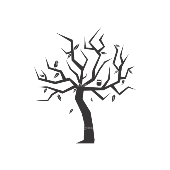 Abstract Trees Vector 3 4 1